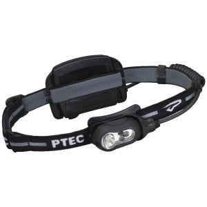 Princeton Tec Remix Genopladelig Hovedlampe Hvidt LED Sort Etui