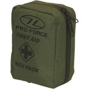 Pro-Force Førsthjælpmidipakke - Olivenfarvet