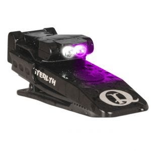 QuiqLite Stealth UV / White LED Light (Military/Police Only)