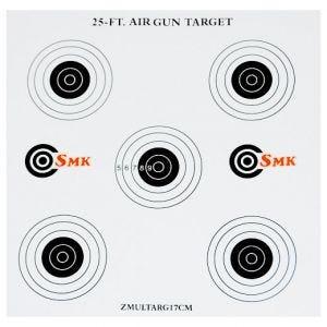 SMK 25ft 17cm Card Targets (100 Pack)