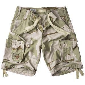 Surplus Airborne Vintage Shorts 3-farvet ørken