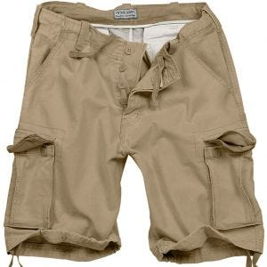 Surplus Vintage Shorts - Washed Beige