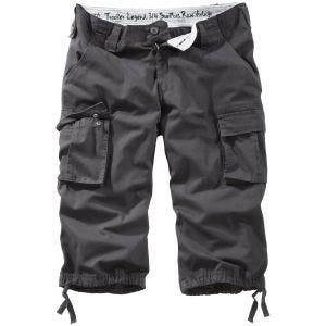 Surplus Trooper Legend 3/4 Shorts - Black Washed