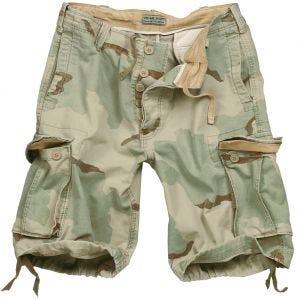 Surplus Vintage Shorts 3-farvet ørken