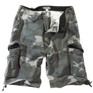 Surplus Vintage Shorts - Washed Night Camo