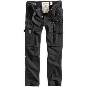 Surplus Premium Slimmy Bukser - Black Washed