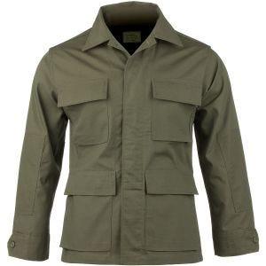 Teesar BDU Skjorte Ripstop - Olivenfarvet