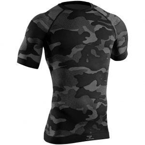 Tervel Optiline Tactical Kortærmet Skjorte - Sort/Grå