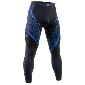 Tervel Optiline Lange Bukser - Sort/Blå