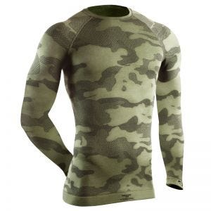 Tervel Optiline Tactical Langærmet Skjorte - Military/Grå