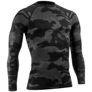 Tervel Optiline Light Tactical Langærmet Skjorte - Sort/Grå
