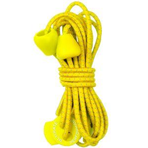 Ultimate Performance Reflekterende Elastiske Snører - Yellow