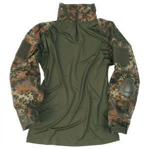 Mil-Tec Warrior Skjorte med Albuelapper - Flecktarn