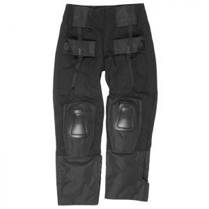 Mil-Tec Warrior Bukser med Knæpuder - Sort
