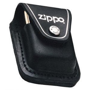 Zippo Lighter-pung med Løkke - Sort